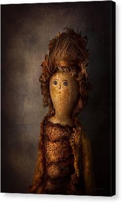 Creepy - Doll - Matilda Canvas Print by Mike Savad