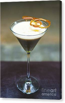 Creme Brulee Alcoholic Cocktail Drink  Canvas Print