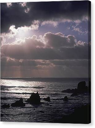 Crepuscular Rays Canvas Print