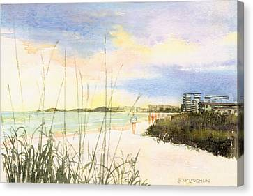 Shawn Canvas Print - Crescent Beach by Shawn McLoughlin