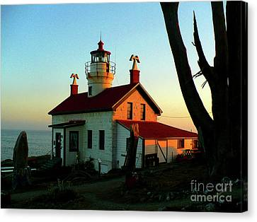 Crescent City Lighthouse Canvas Print by Chad Rice