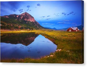 Rural Landscapes Canvas Print - Crested Butte Morning by Darren  White