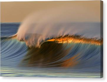 Canvas Print featuring the photograph Cresting Wave Mg_0372 by David Orias