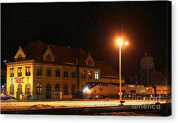 Creston Depot Canvas Print by Thomas Danilovich