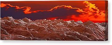Crete Highlands Canvas Print by George Rossidis