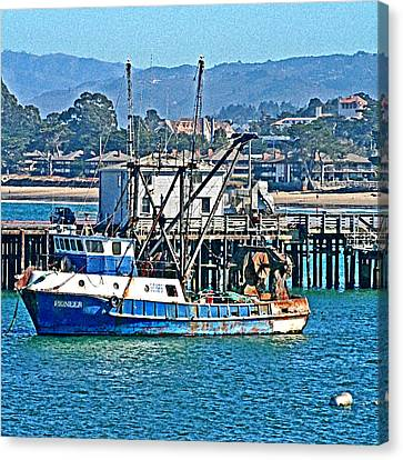 Crew Wanted Canvas Print by Joseph Coulombe