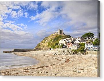 Criccieth Castle North Wales Canvas Print by Colin and Linda McKie