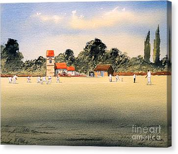 Cricket Canvas Print