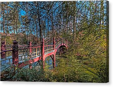 Canvas Print featuring the photograph Crim Dell Bridge by Jerry Gammon