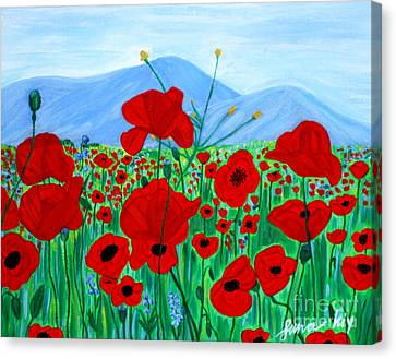 Crimea 2007. Soul Collection Canvas Print by Oksana Semenchenko