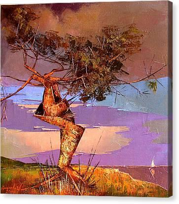 Crimean Pine Canvas Print by Anastasija Kraineva