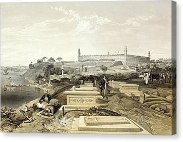 Crimean War Cemetery Canvas Print