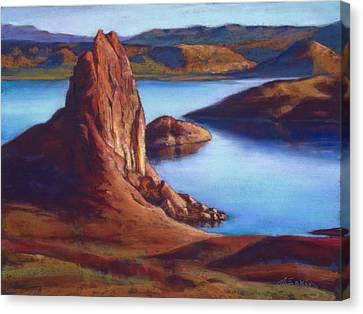 Crimson Cove Canvas Print