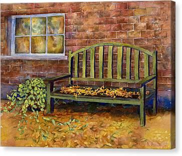 Crisp Canvas Print by Mary Giacomini