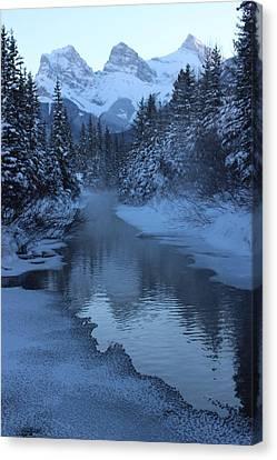 Canvas Print featuring the photograph Crisp by Ramona Johnston