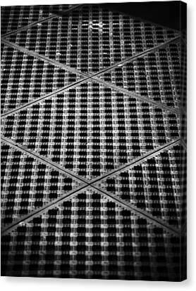 Grate Canvas Print - Criss Cross by Christi Kraft