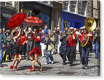 Criterion New Orleans Parade Band Canvas Print