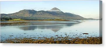 Croagh Patrick Ireland's Holy Mountain Canvas Print by Jane McIlroy