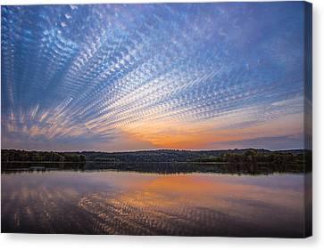 Crochet The Sky Canvas Print