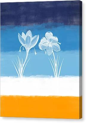 Crocus Flowers Canvas Print - Crocus Flower by Aged Pixel