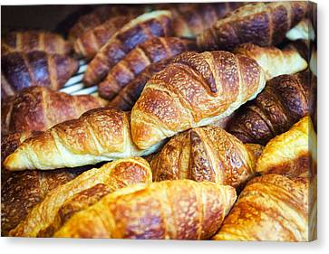 Croissants  Canvas Print by Tanya Harrison