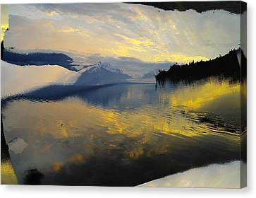 Crooked Frame Canvas Print by Jeff Swan