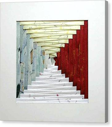 Crooked Staircase Canvas Print by Ron Davidson
