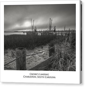 Crosby Landing Canvas Print