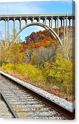 Cross Country Canvas Print by Frozen in Time Fine Art Photography