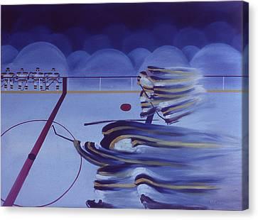 Cross Ice Pass Canvas Print by Ken Yackel