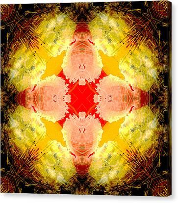 Cross Of Mercy Canvas Print by David G Paul