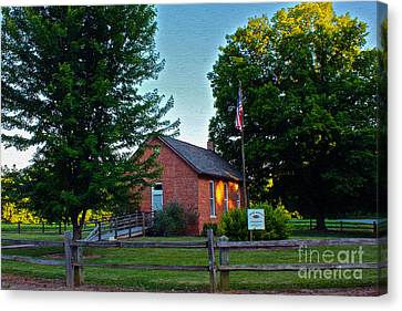 Cross School Canvas Print by Mike Flake