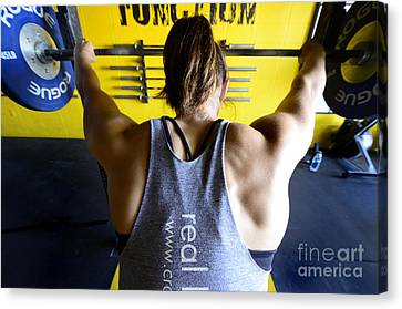 Crossfit 3 Canvas Print by Bob Christopher