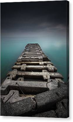 Crossing Over Canvas Print by Joshua Eral