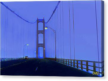 Crossing The Mighty Mack Canvas Print
