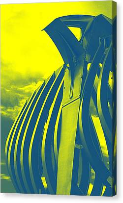 Crossiron Mills - 1 Canvas Print by Jhoy E Meade