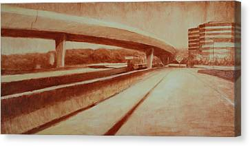 Crossroads Canvas Print by Jeff Levitch