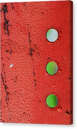 Crossroads Canvas Print by Tom Druin