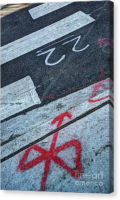 Crosswalk Canvas Print by Jim Wright