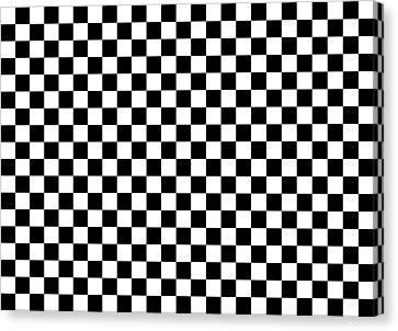 Crossword Fanatic Canvas Print by Daniel Hagerman
