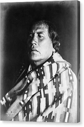 Crow Native American, C1907 Canvas Print