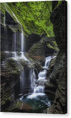 Finger Lakes Canvas Print - Crown Jewel by Bill Wakeley