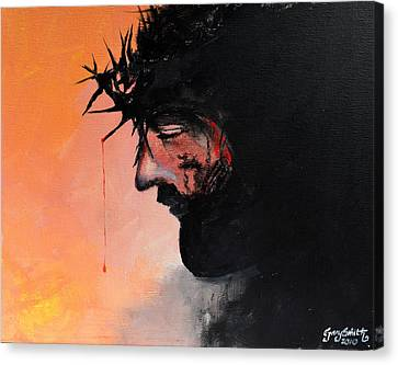Blood Of The Redeemer Canvas Print by Gary Smith