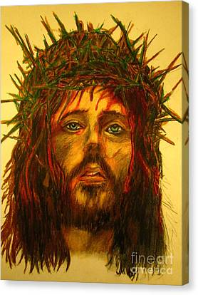 Orthodox Canvas Print - Crown Of Thorns by John Malone