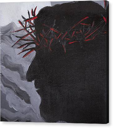 Crown Of Thorns Canvas Print by Kate Farrant
