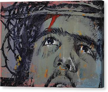 Crown Of Thorns Canvas Print by Michael Creese