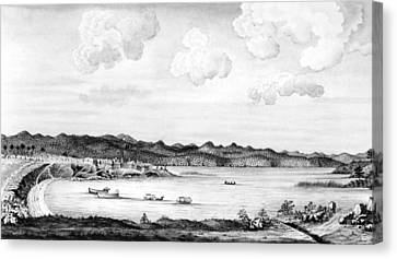 Crown Point, 1759 Canvas Print by Granger