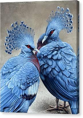 Crowned Victorians Canvas Print by Cara Bevan