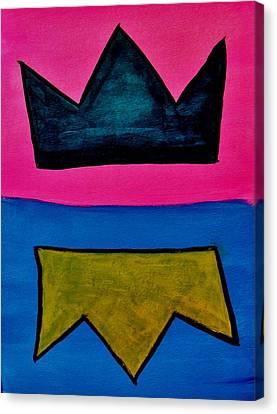 Crowns Canvas Print