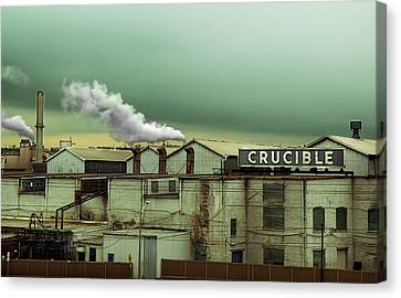 Crucible Canvas Print by Steven Michael